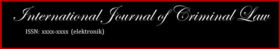 International Journal of Criminal Law