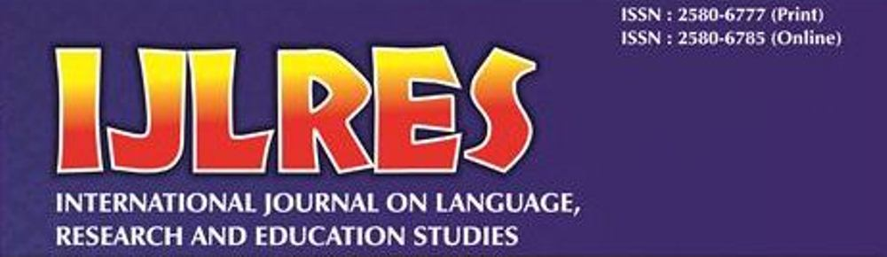 International Journal On Language Research And Education Studies